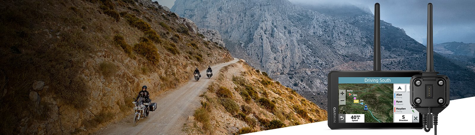 Групповой трекер Garmin Group Ride Tracker